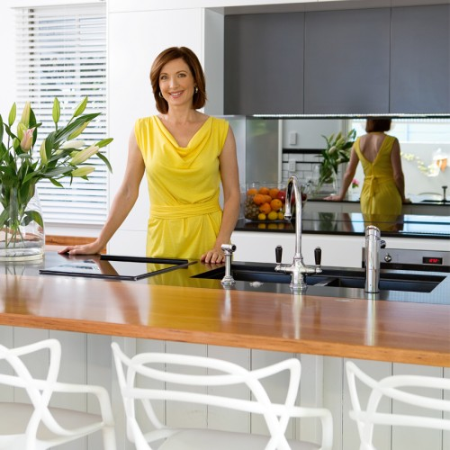 Real Home: QH tours the newly-renovated kitchen of Brisbane newsreader Melissa Downes.