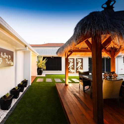 You'll Love This Stunning Tropical Outdoor Landscape