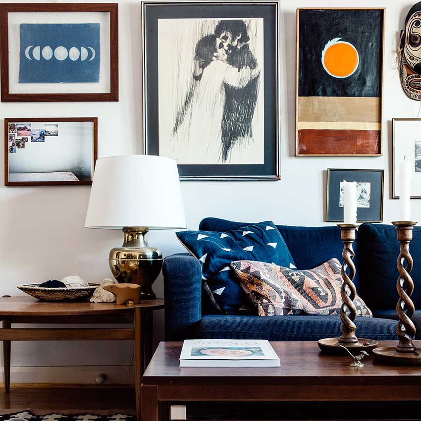 Eclectic apartment decor inspiration for your next rental for Eclectic apartment decor