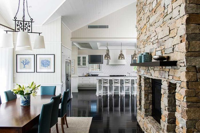 modern cape cod style meets queensland home queensland