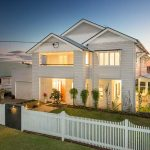 Classic Queenslander renovated into a sleek family home