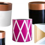 Modern Muse designer pots brighten up the home