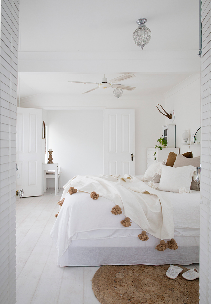 coastal master bedroom