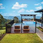 A hinterland home with an idyllic outdoor entertaining area
