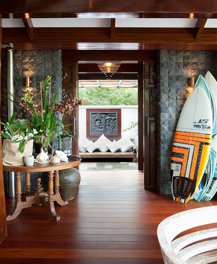 Bali style surf home