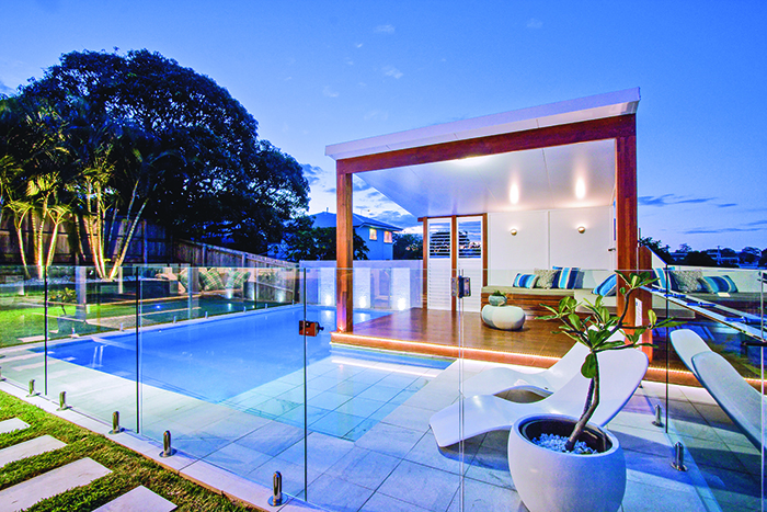 Majestic Pools outdoor spaces