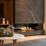 Hot style with a Real Flame fireplace
