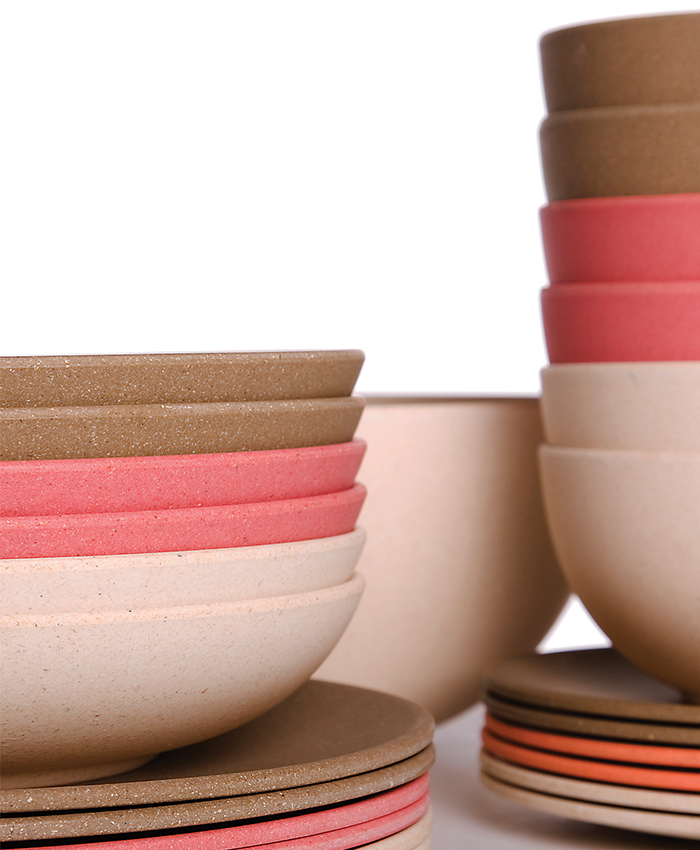 impact eco, tableware, kitchen, colour