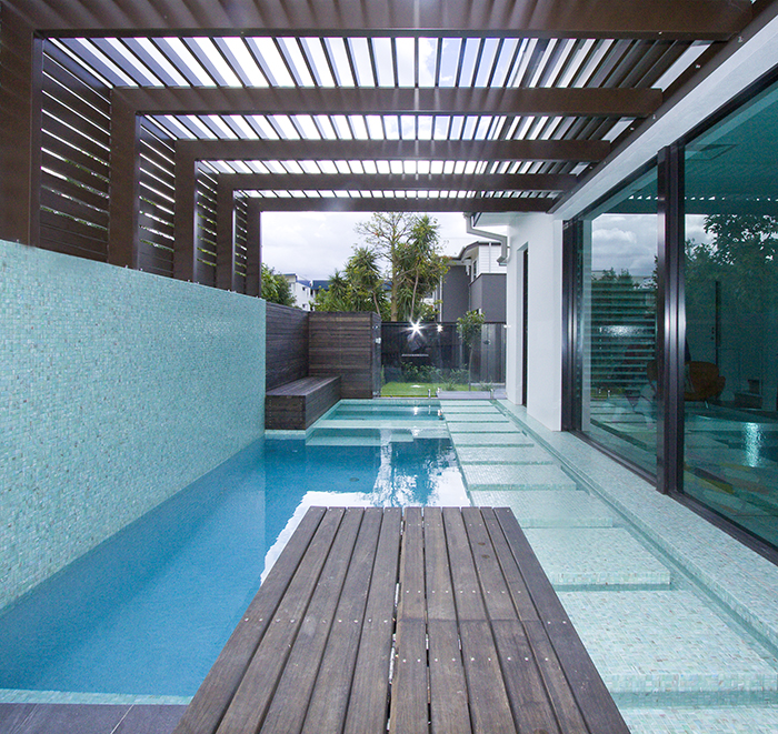 Argo Architects architectural poolscape