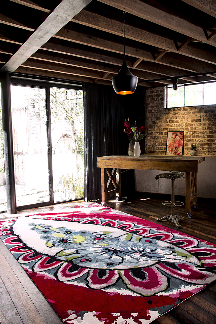 Rose Cocoon Easton Pearson Designer Rugs