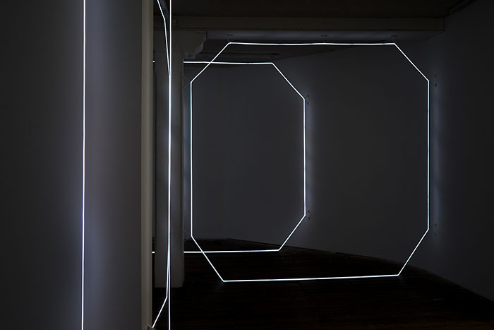 1. Meagan Streader, W-inter, 2016, installation view. Image by Louis Lim