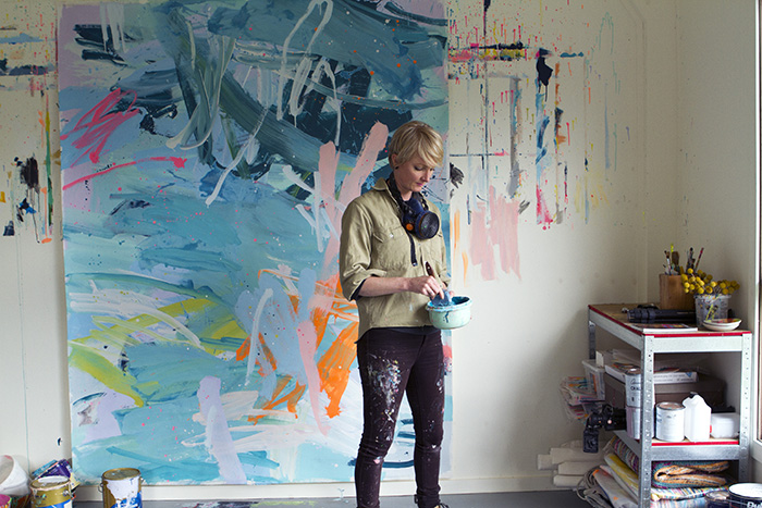 Artist Rowena Martinich. Photo: Hunting for George
