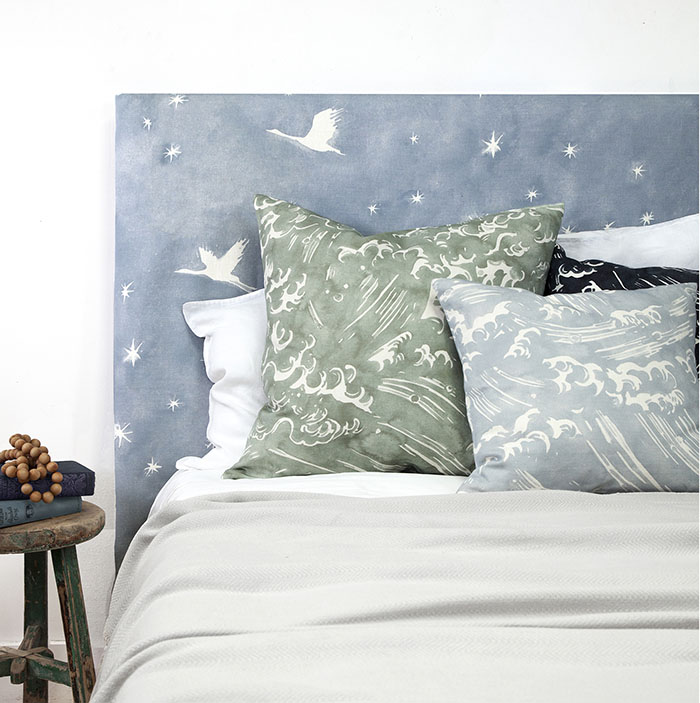 Starlit fabric by Quercus & Co