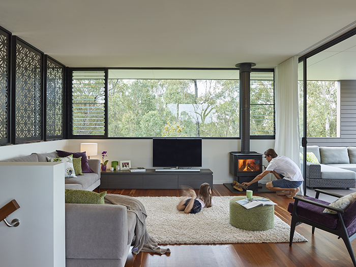 Lounge - The Bird House by Jamison Architects