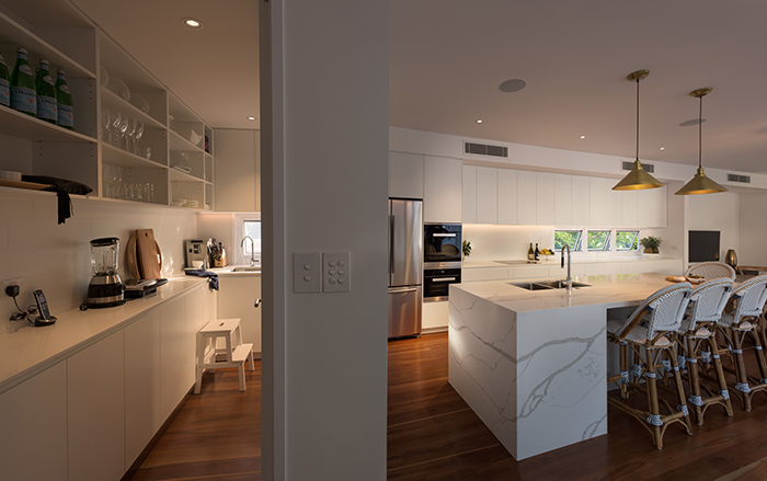 Smith Architects pre-war house renovation