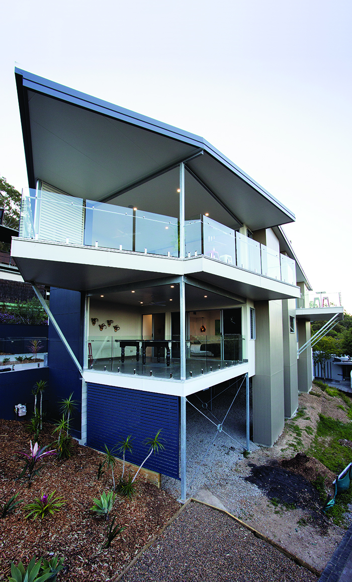 IRP Architects back of home