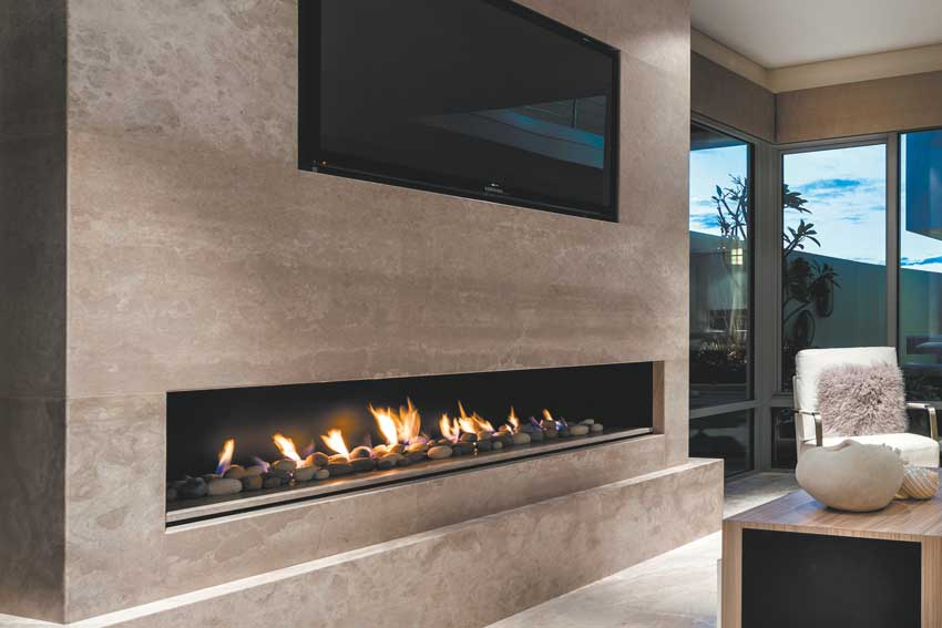 Real Flame on Queensland Homes Magazine | For an exceptional range of fireplaces witha sense of style