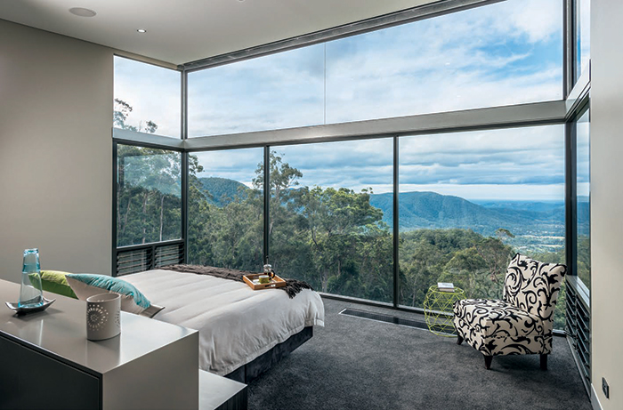 bedroom views of valley