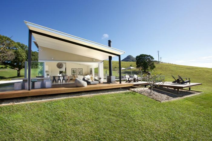 designer shed homes. The Right Line  Striking Roof Line Of What Was Once A Shed Is An Ideal Prelude To Has Been Achieved Through The Imagination And Skill A Sunshine Coast Hinterland Property Queensland Homes