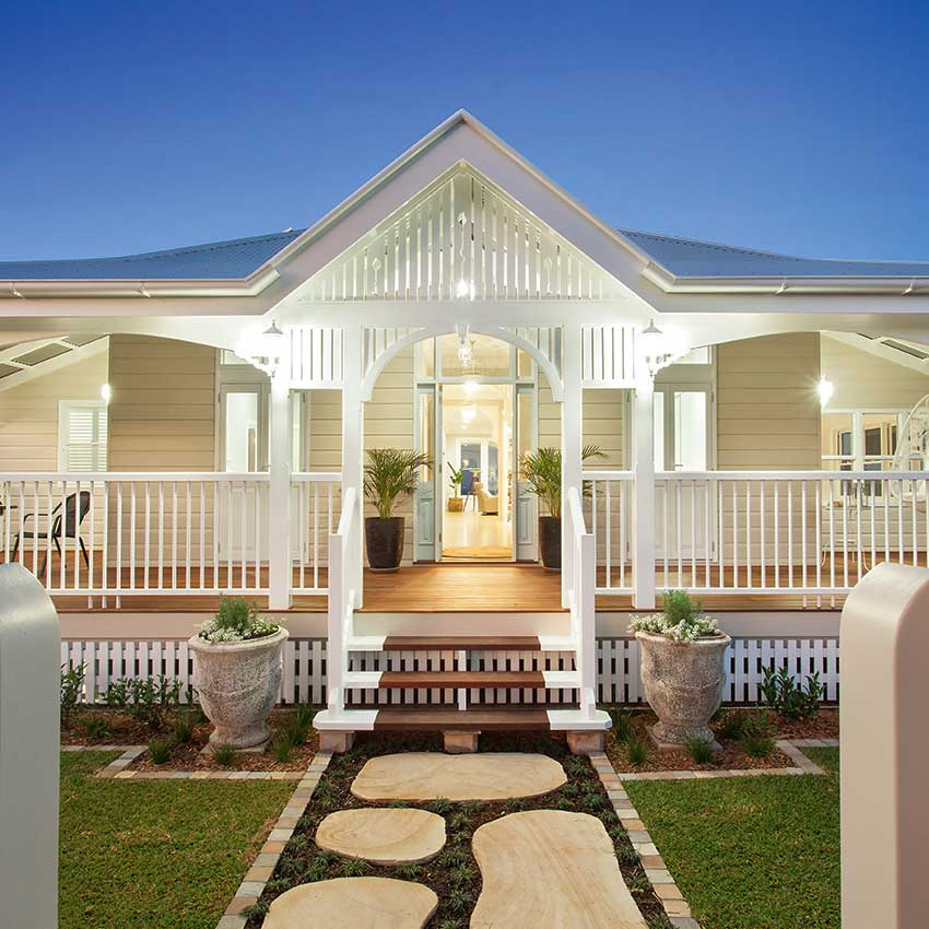 See This Magnificent Queenslander Home Renovated To