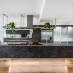 Contemporary minimalist was the brief for this kitchen design