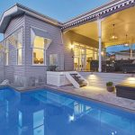 This once run-down Queenslander has been lovingly restored