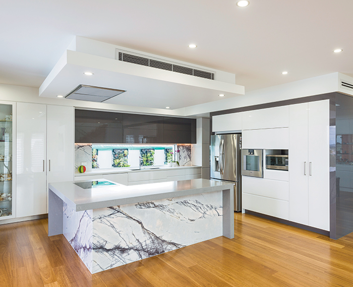 How To Create An Award Winning Ultra Modern Kitchen Queensland Homes Magazine