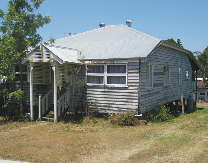 pre renovation queenslander