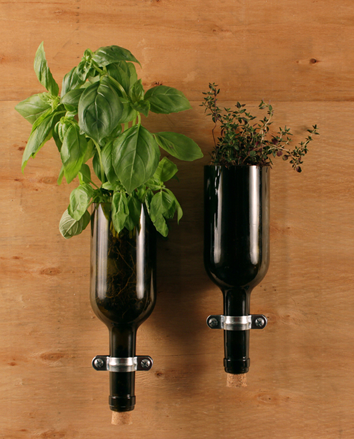 utensil wine bottle holder