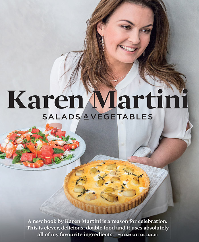Karen Martini salads and vegetables cookbook
