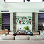 This contemporary waterfront home makes the most of an island lifestyle