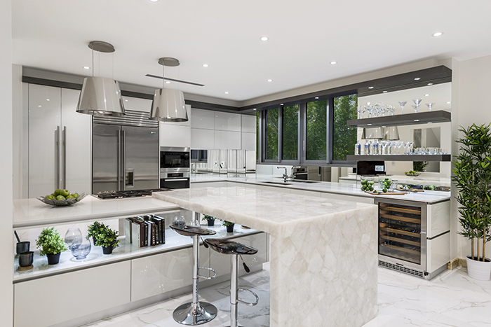 Sublime Architectural Interiors kitchen island
