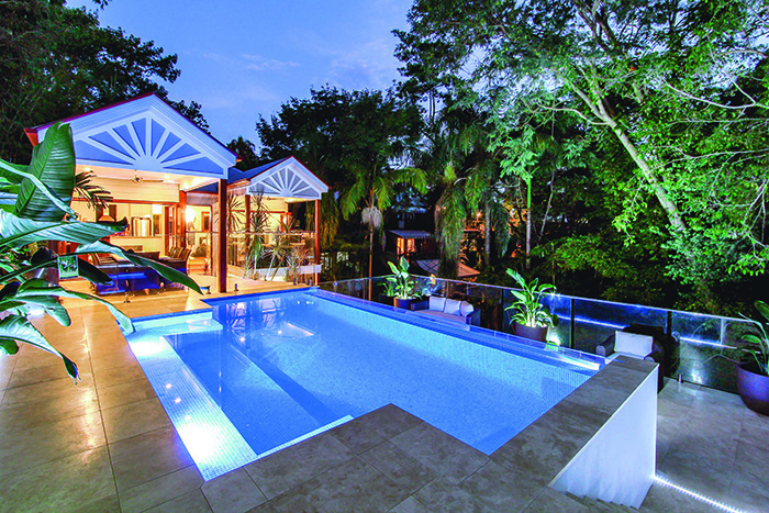 Majestic Pools tropical design