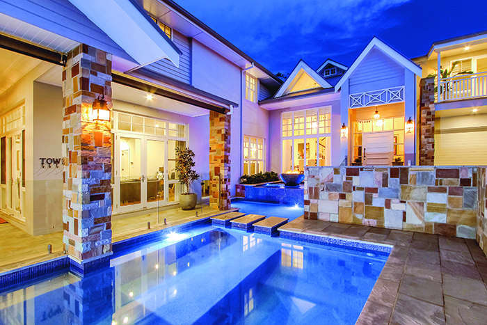 Majestic pools Bulimba design