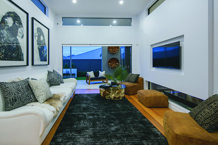 Munro Builders TV room