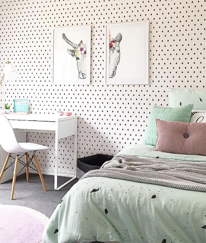Taylored Dots kids bedroom