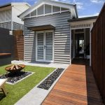This renovated Queenslander boasts style and sophistication