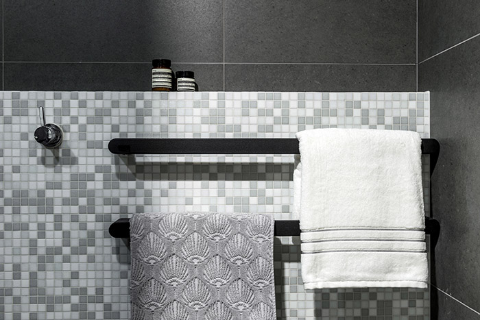 Darren James Interiors bathroom tiles