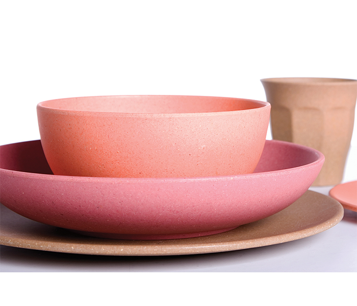impact eco, tableware, bamboo