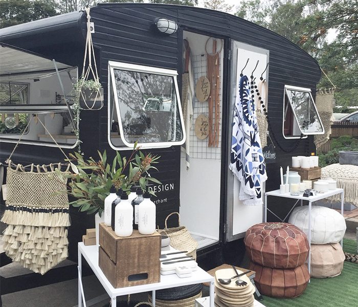 scouted design, caravan, shop, wanderlust, interior design