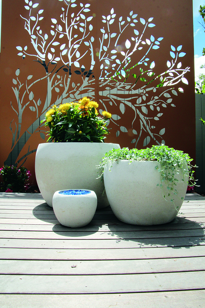 Enigma Outdoors garden urns