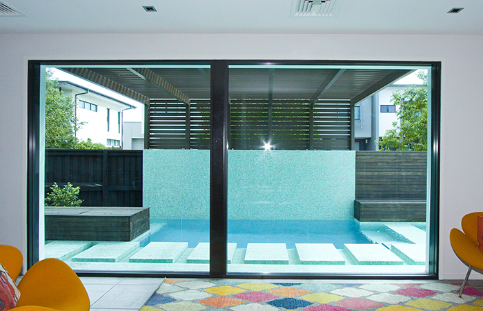 Argo Architects view to pool