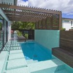 A savvy poolscape design becomes an architectural extension