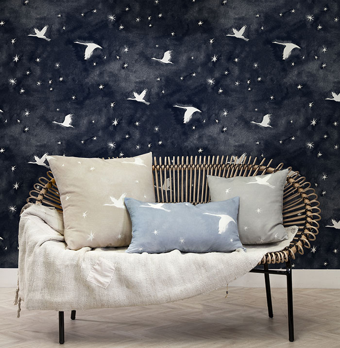 Starlit wallpaper by Quercus & Co