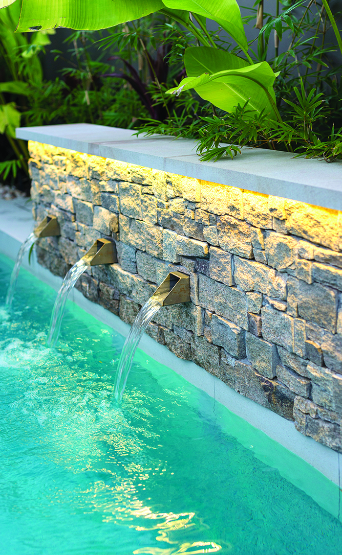 Tecscape water feature