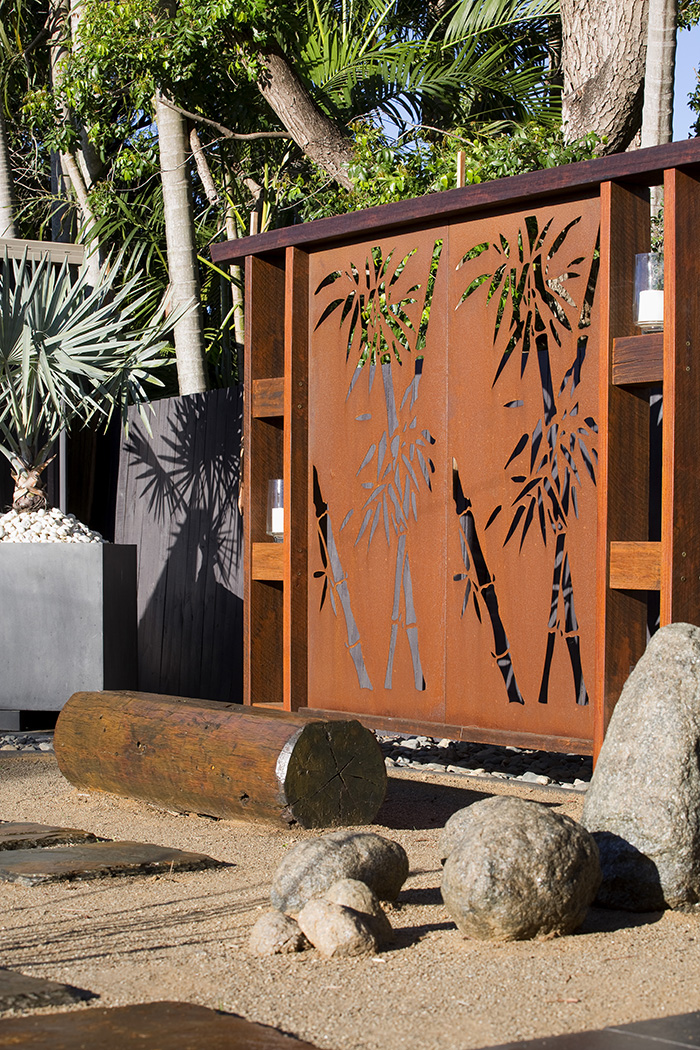 Bioscapes exotic garden screen