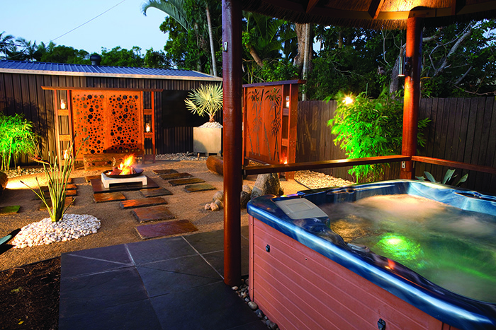 Bioscapes exotic garden spa