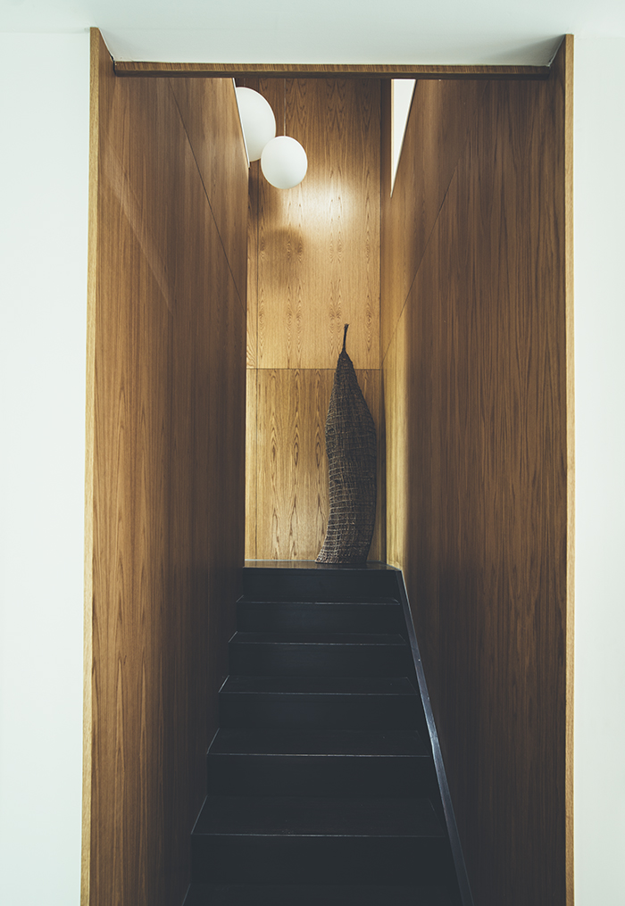 Teeland Architects Sunday House stairway