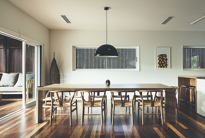 Teeland Architects Sunday House dining room