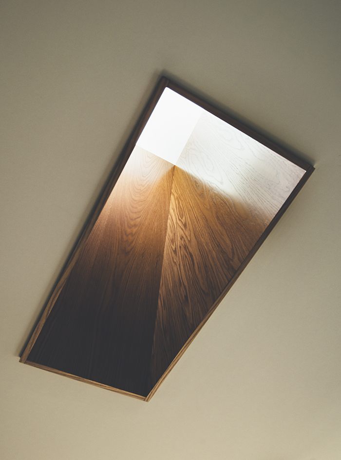 Teeland Architects Sunday House skylight